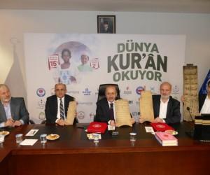 Trabzon'dan mazlum milletlere 61 bin adet Kur'an-ı Kerim gidecek