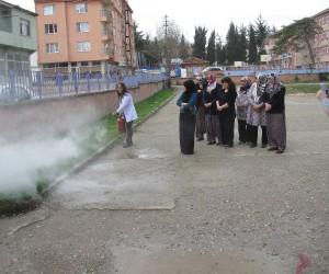 Pazaryeri HEM'de yangın ve deprem tatbikatı