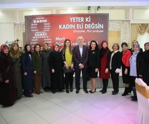 Başkan Kamil Saraçoğlu: Kadınlarımızın gününü kutluyorum