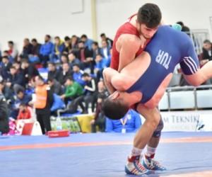 23 yaş altı Türkiye serbest güreş şampiyonası