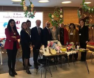 Hastanede Kadınların Günü etkinliği