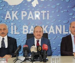AK Parti Çorum İl Başkan Mehmet Karadağ;
