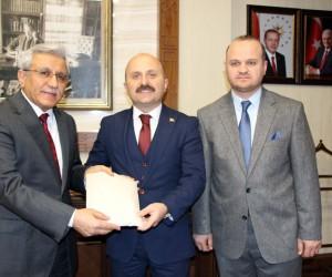 Amasya'da imamlar Mehmetçik için para topladı