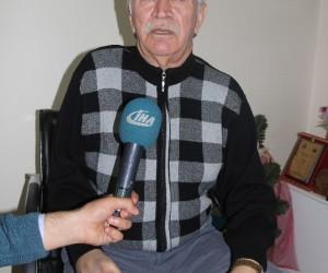 Erzurumlu sanatçı protez için destek istedi