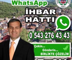 Simav Belediyesi'nde WhatsApp uygulaması