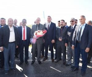 Başkan Ergün'e Köprübaşı'nda coşkulu karşılama