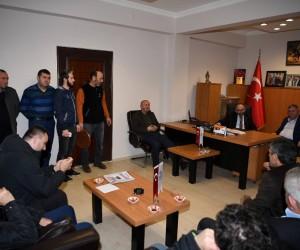 Başkan Üzülmez, Taşıyıcılar Kooperatifini ziyaret etti