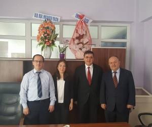 Başkan Yalçın'dan Pazaryeri Devlet Hastanesi Müdürü Arık'a ziyaret