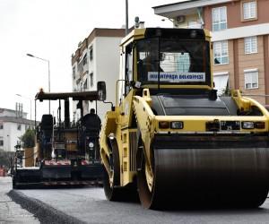 Yunus Emre Caddesi yenileniyor