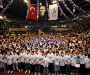 Bin 380 çocuk işaret diliyle İstiklal Marşı okuma rekor denemesi yapacak