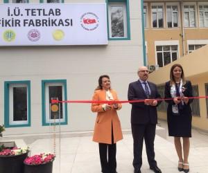 İstanbul Üniversitesi TETLAB Fikir Fabrikası törenle açıldı