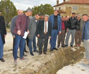 Başkan Akkaya, Ortaköy Mahallesinde incelemelerde bulundu