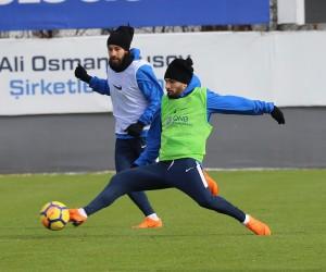 Trabzonspor, Akhisarspor maçının hazırlıklanrını sürdürdü