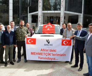 BAKDER'den Mehmetçiğe arazi aracı