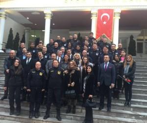 Polis Okulunda Azeri ve Türk vekilden Afrin'e selam