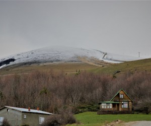 Akdağ Kayak Merkezi 'kar'sız kaldı
