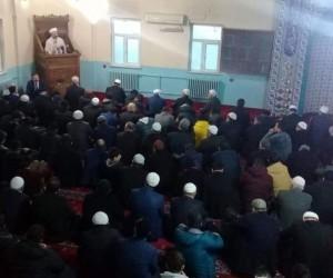 Diyanet İşleri Başkanı Erbaş, sabah namazını Hakkari'de kıldı