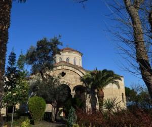 Trabzon'daki Ayasofya Camisi'nin restorasyon projesi tamam sıra ihalesinde