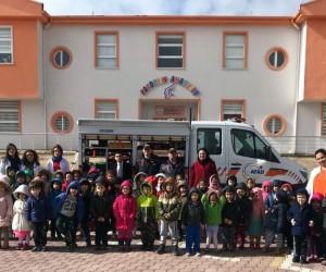Kardelen Koleji anaokulu öğrencilerine afet eğitimi verildi