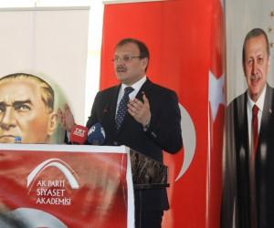 """Başbakan Yardımcısı Çavuşoğlu: """"Terör örgütü, ABD tarafından desteklenmek ve silahlandırılmak suretiyle Türkiye için tehdit hale getirildi"""""""