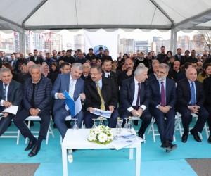 Bin kişilik Recep Mamur Sahabiye Camii'nin temel atma töreni yapıldı