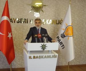 """AK Parti Milletvekili Taner Yıldız: """"Türkiye terör kamburuyla hareket etmeyecek"""""""