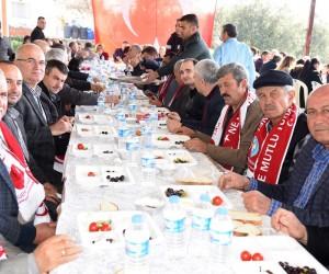 Dilek'te birlik ve beraberlik kahvaltısı