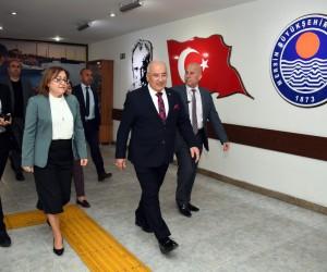 Fatma Şahin, Başkan Kocamaz'ı ziyaret etti