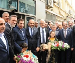 BTSO Başkanı Burkay'dan Kilis ziyareti değerlendirmesi