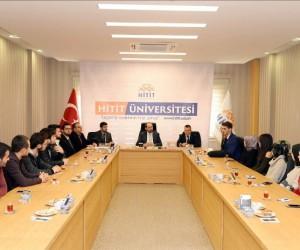 Rektör Alkan, girişimci liderler kulubü öğrencileriyle bir araya geldi