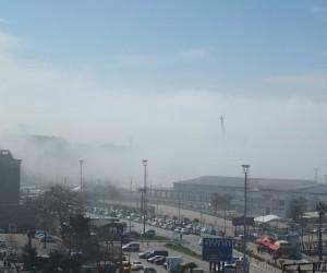 Bandırma Körfezi'nde sis nedeniyle İDO seferleri iptal edildi