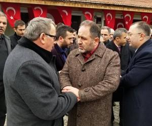 Murat Demir, 'Şehit Arif Demirel'in mevlidine katıldı