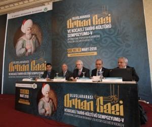 Türkiye'nin en büyük yerel tarih sempozyumunda Orhan Gazi konuşuldu