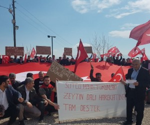 Kahramanmaraşlı tekstil çalışanlarından Mehmetçiğe destek