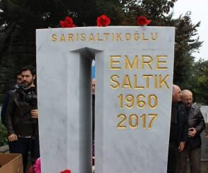 Halk müziği sanatçısı Emre Saltık mezarı başında anıldı