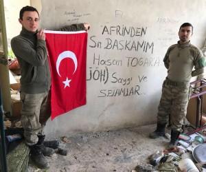 Afrin'den Başkan Togar'a selam
