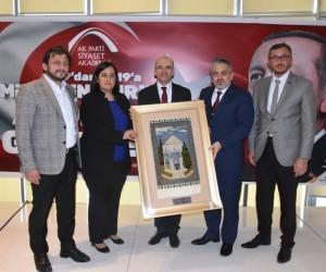 Siyaset Akademisi'nin ilk ders zili Başbakan Yardımcısı Mehmet Şimşek'in katılımı ile çaldı