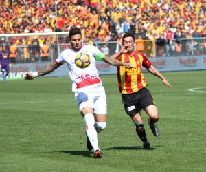 Spor Toto Süper Lig: Göztepe: 1 - Antalyaspor: 0 (İlk yarı)