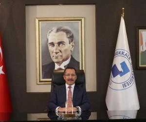PAÜ Rektörü Prof. Dr. Hüseyin Bağ'dan İstiklal Marşı mesajı