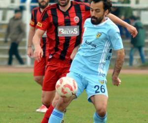 TFF 3. Lig: Çorum Belediyespor: 0 - Tarsus İdman Yurdu: 0