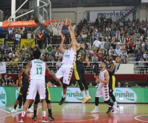 Tahincioğlu Basketbol Süper Ligi: Pınar Karşıyaka: 69 - Fenerbahçe Doğuş: 74