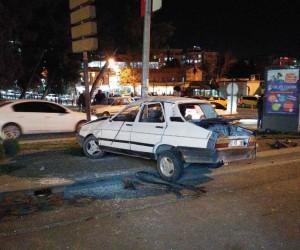 Şanlıurfa'da freni boşalan otomobil takla attı: 5 yaralı