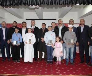 Mustafa Germirli İmam Hatip Ortaokulu ilk hafızlarını verdi