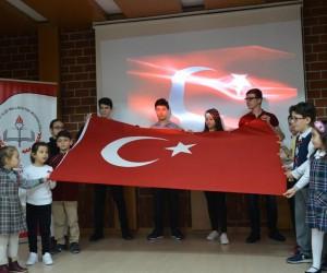 Öğrenciler, İstiklal Marşı´nı güzel okumak için yarıştılar