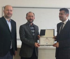 Mehmet Arslaner, DPÜ'deki 'yurt dışı din hizmetleri' konulu seminere konuşmacı olarak katıldı
