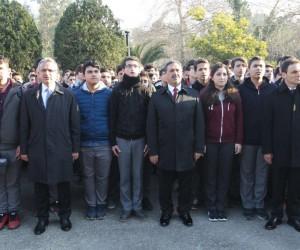 Kaymakam Güler ve Başkan Köşker öğrencilerle buluştu