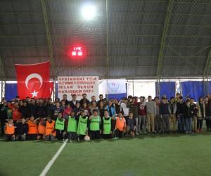 Karabekir Ortaokulu sınıflar arası halı saha futbol turnuvası sona erdi