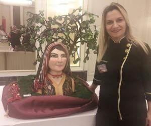 Karadeniz Kadını Pastasıyla Trabzon'un gururu oldu.