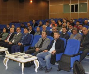 Bitlis'te İnci Kefalinin av yasağı toplantısı