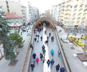 Eskişehir'in yeni cazibe merkezi 'Hamamyolu Caddesi'